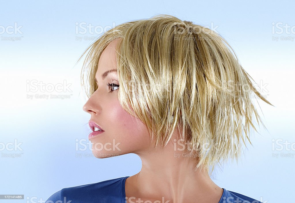 Blondie stock photo