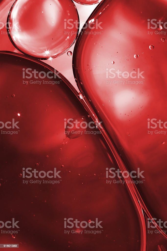 Blood and Bubbles royalty-free stock photo