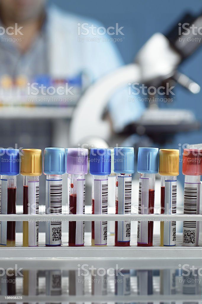 blood bank stock photo