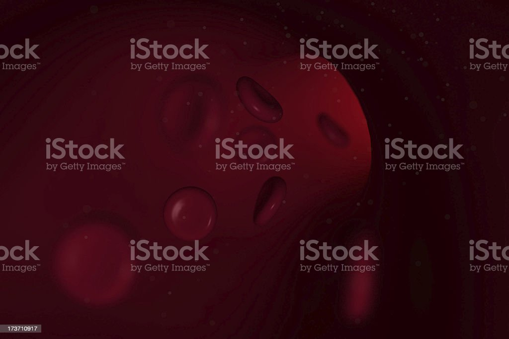 blood cell royalty-free stock photo