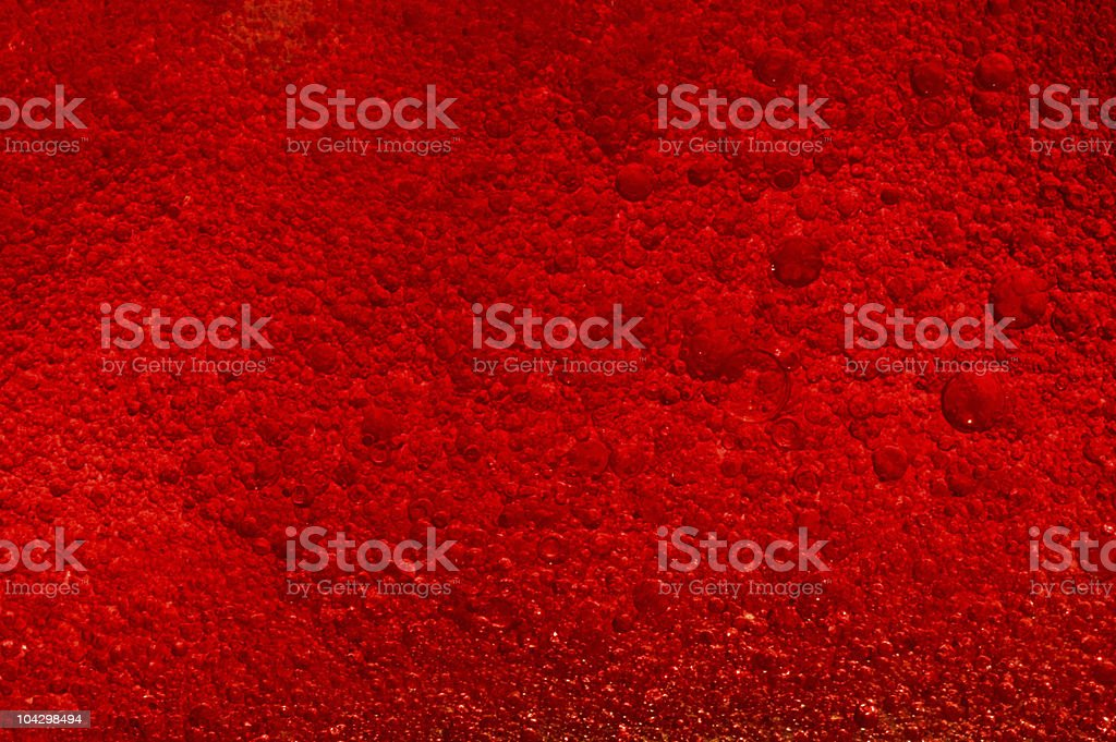 Blood cells flowing stock photo