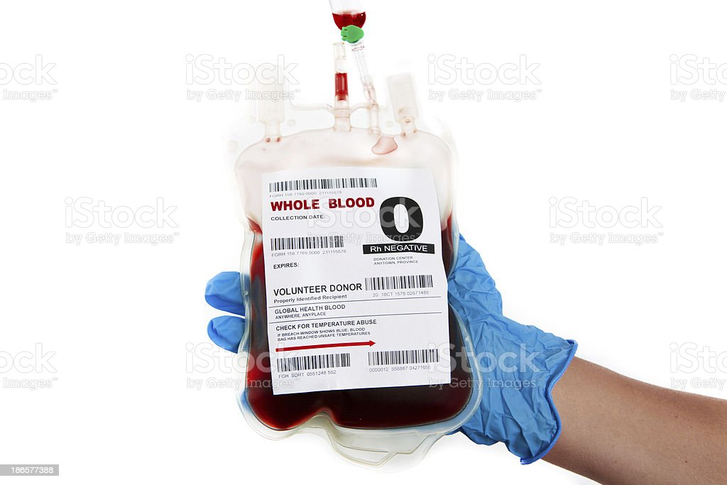 Blood Donation royalty-free stock photo