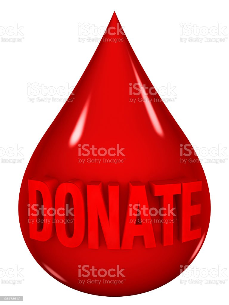 Blood Donation royalty-free stock photo