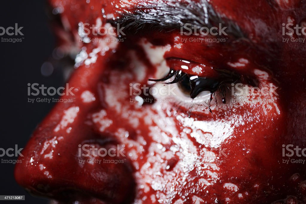 Blood Drenched royalty-free stock photo