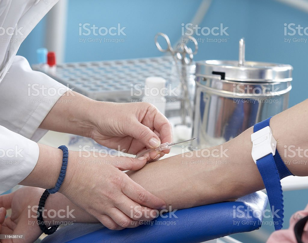 blood extraction closeup health care royalty-free stock photo