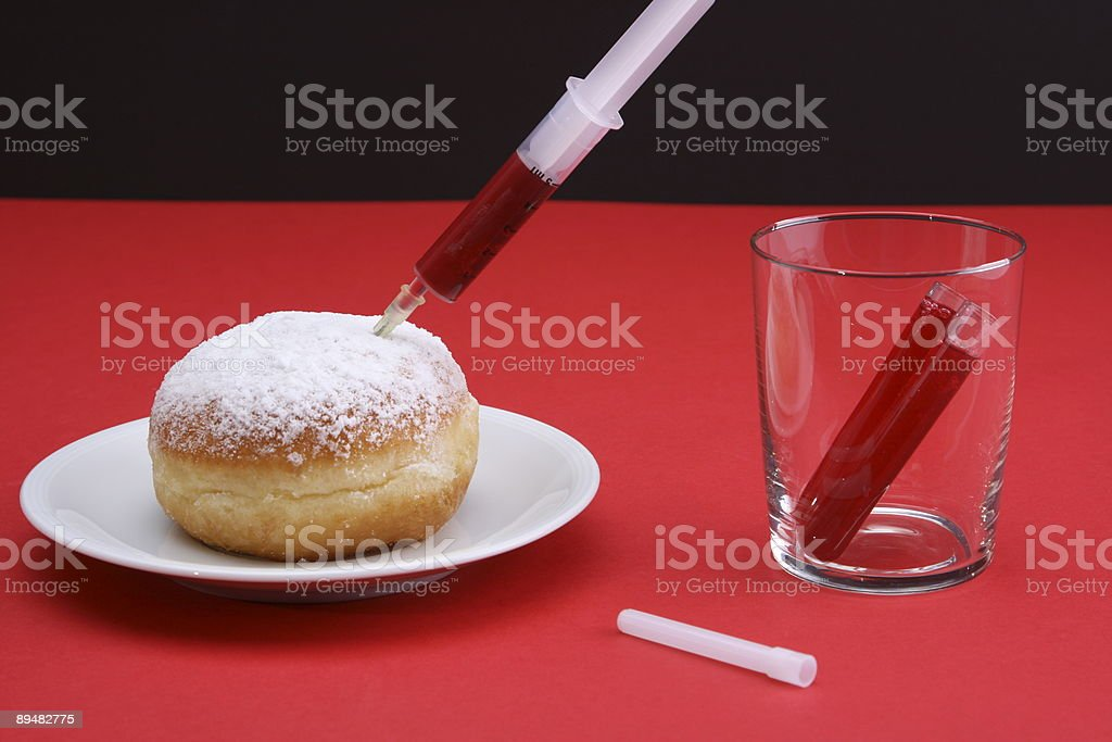 Blood Infusion royalty-free stock photo