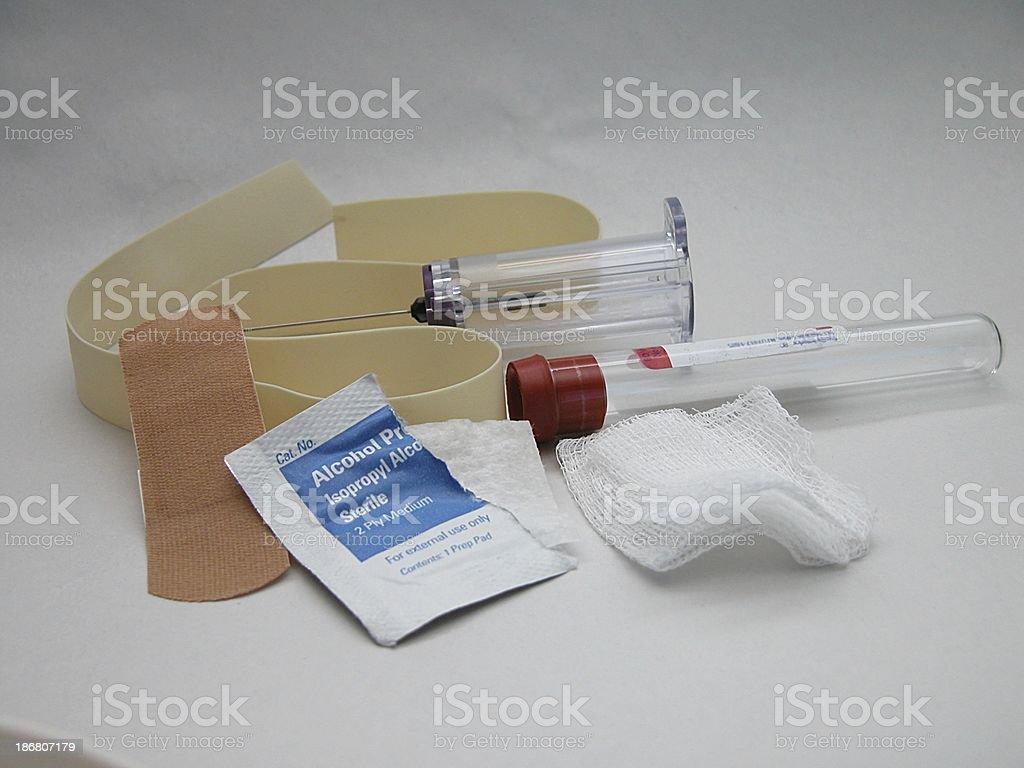 blood kit royalty-free stock photo