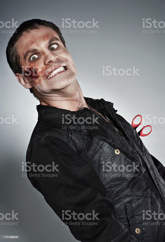 Blood man royalty-free stock photo