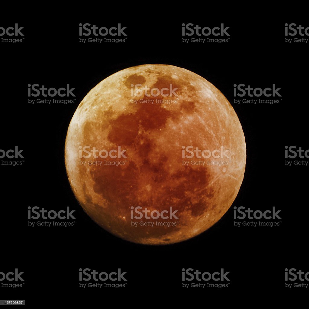 Blood Moon stock photo