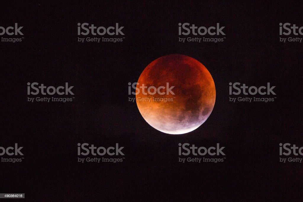 Blood Moon stock photo