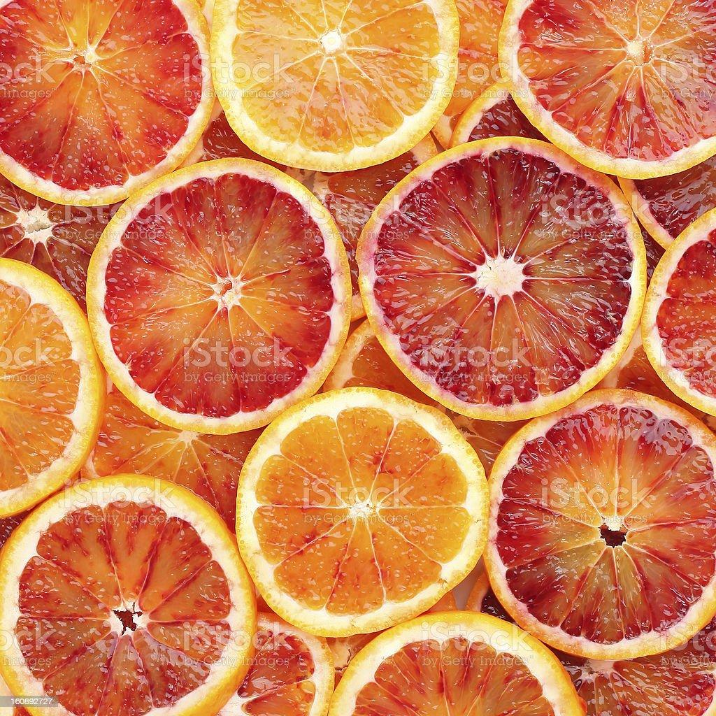 Blood orange background stock photo