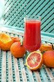 Blood orange fresh juice