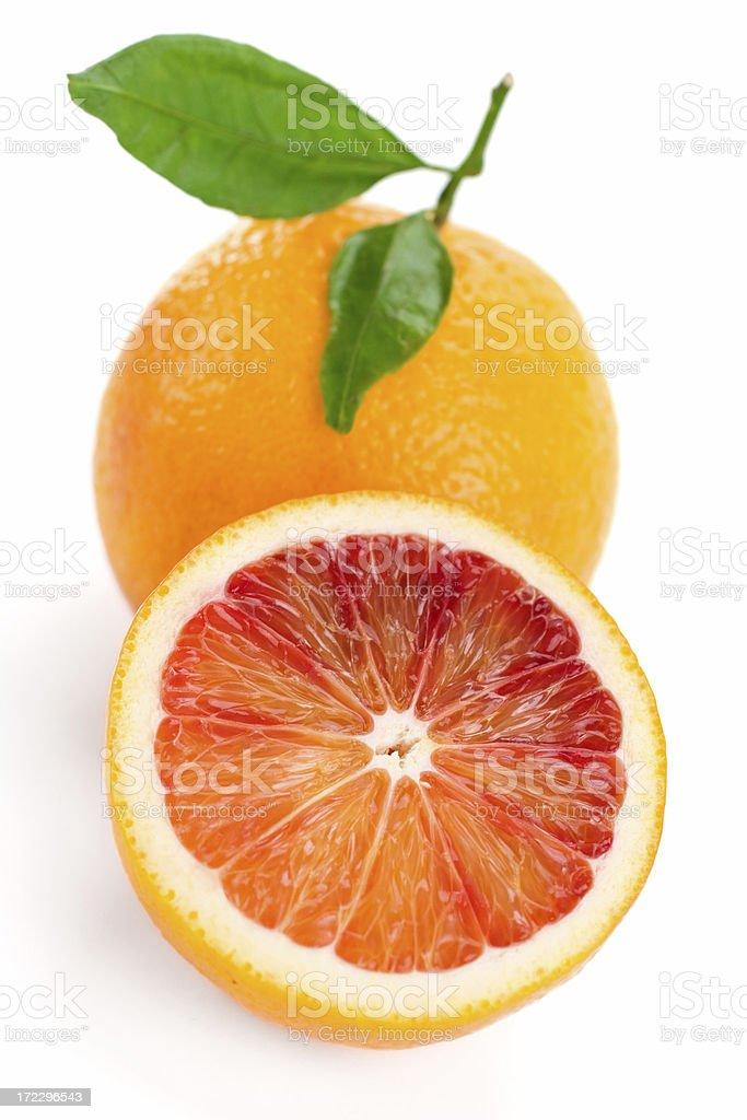 Blood Orange stock photo