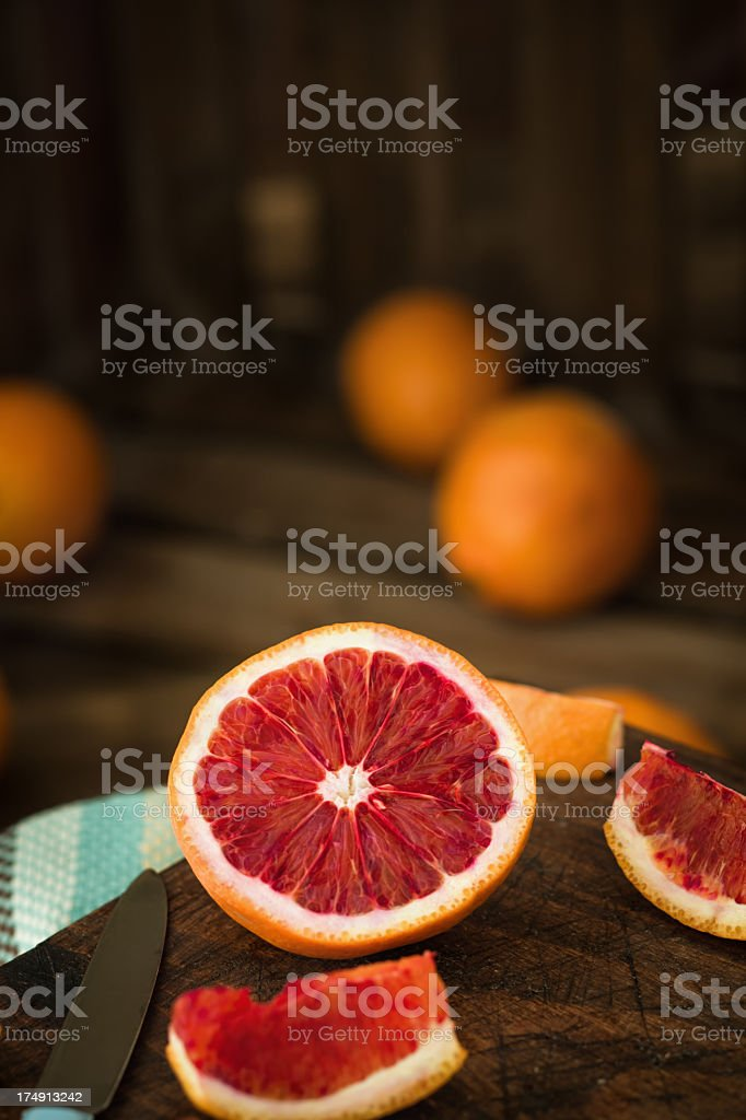 Blood Orange royalty-free stock photo