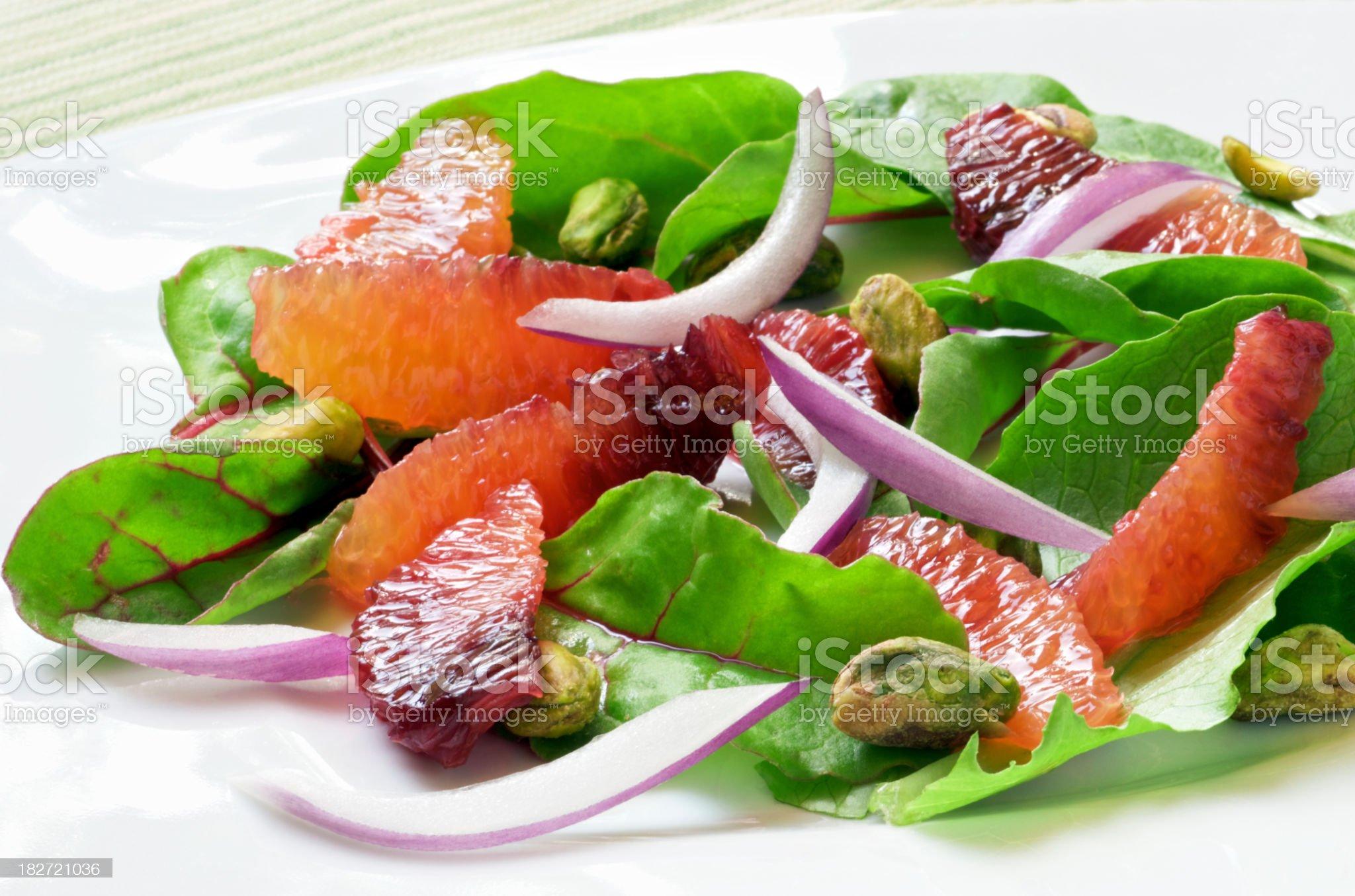 Blood Orange Salad royalty-free stock photo