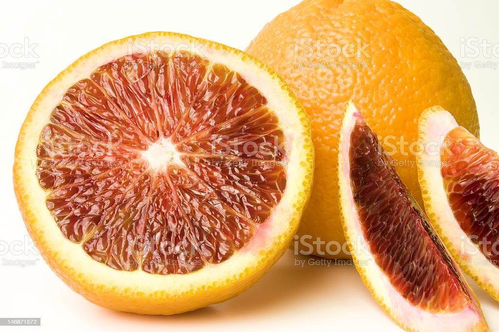 Blood Orange Nahaufnahme Lizenzfreies stock-foto