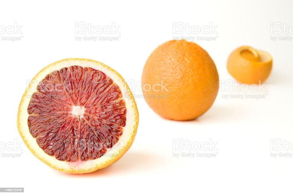 Blood Orange Lizenzfreies stock-foto