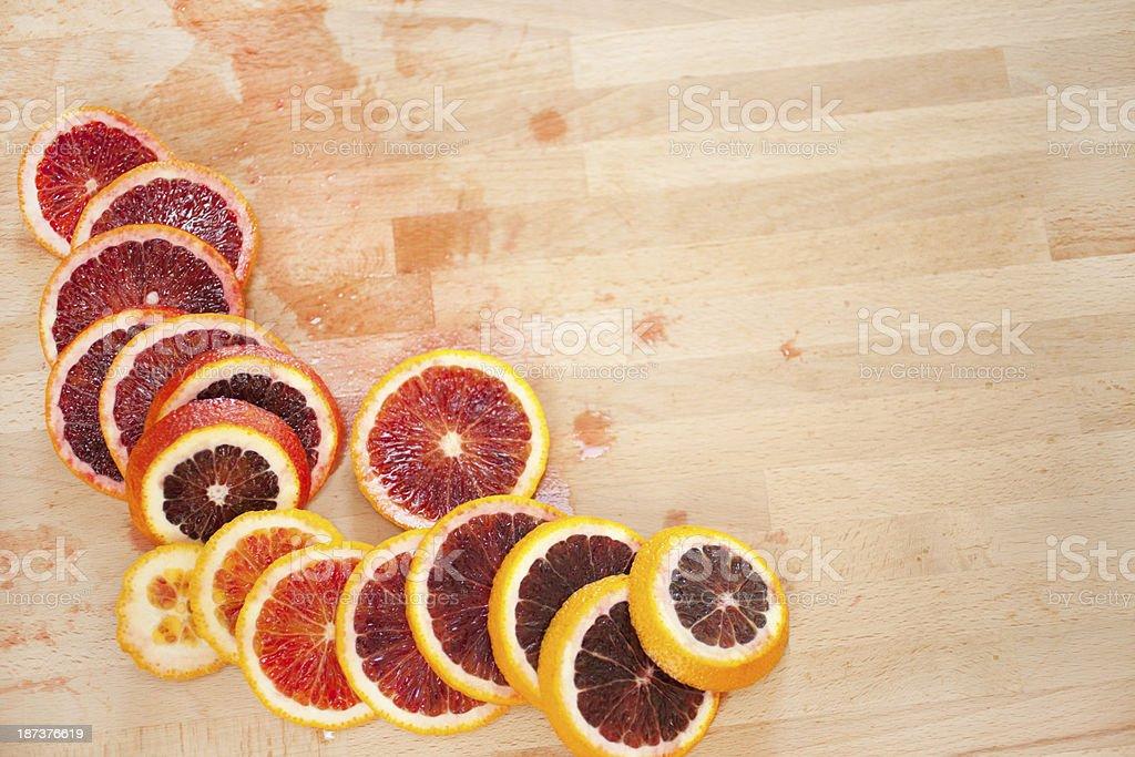 Blood oranges royalty-free stock photo