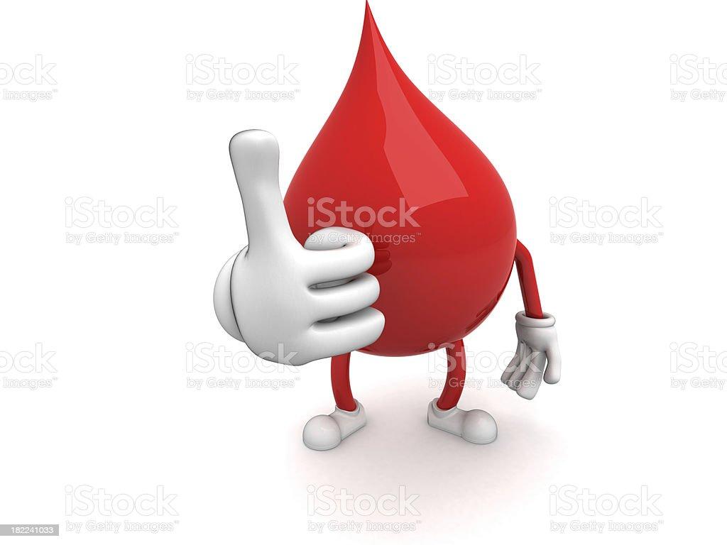 Blood royalty-free stock photo