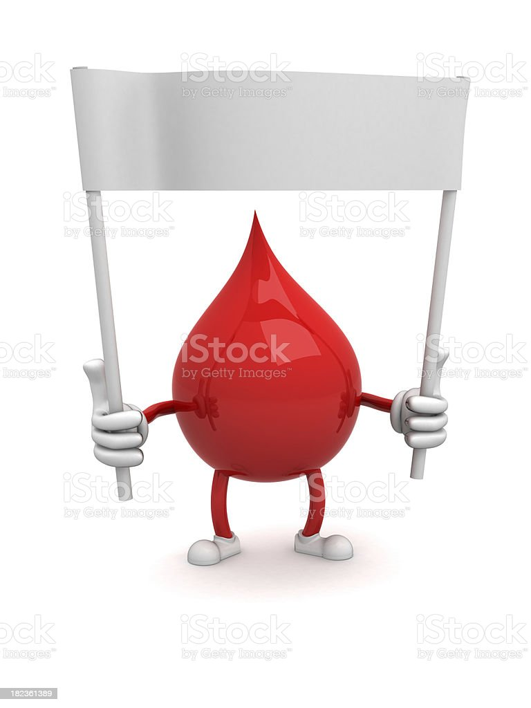 Blood royalty-free stock photo