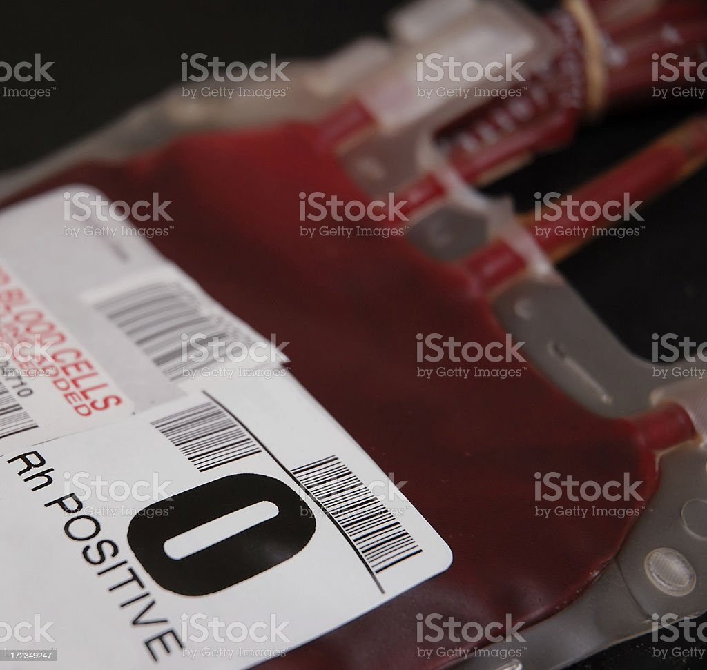 Blood Pint stock photo