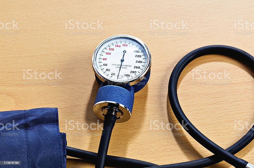 Blood pressure checks are vitally important - have them regularly! stock photo