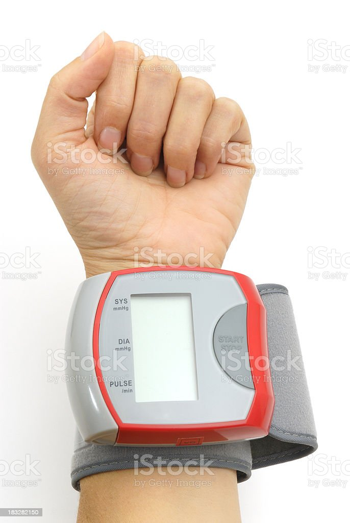 blood pressure control royalty-free stock photo