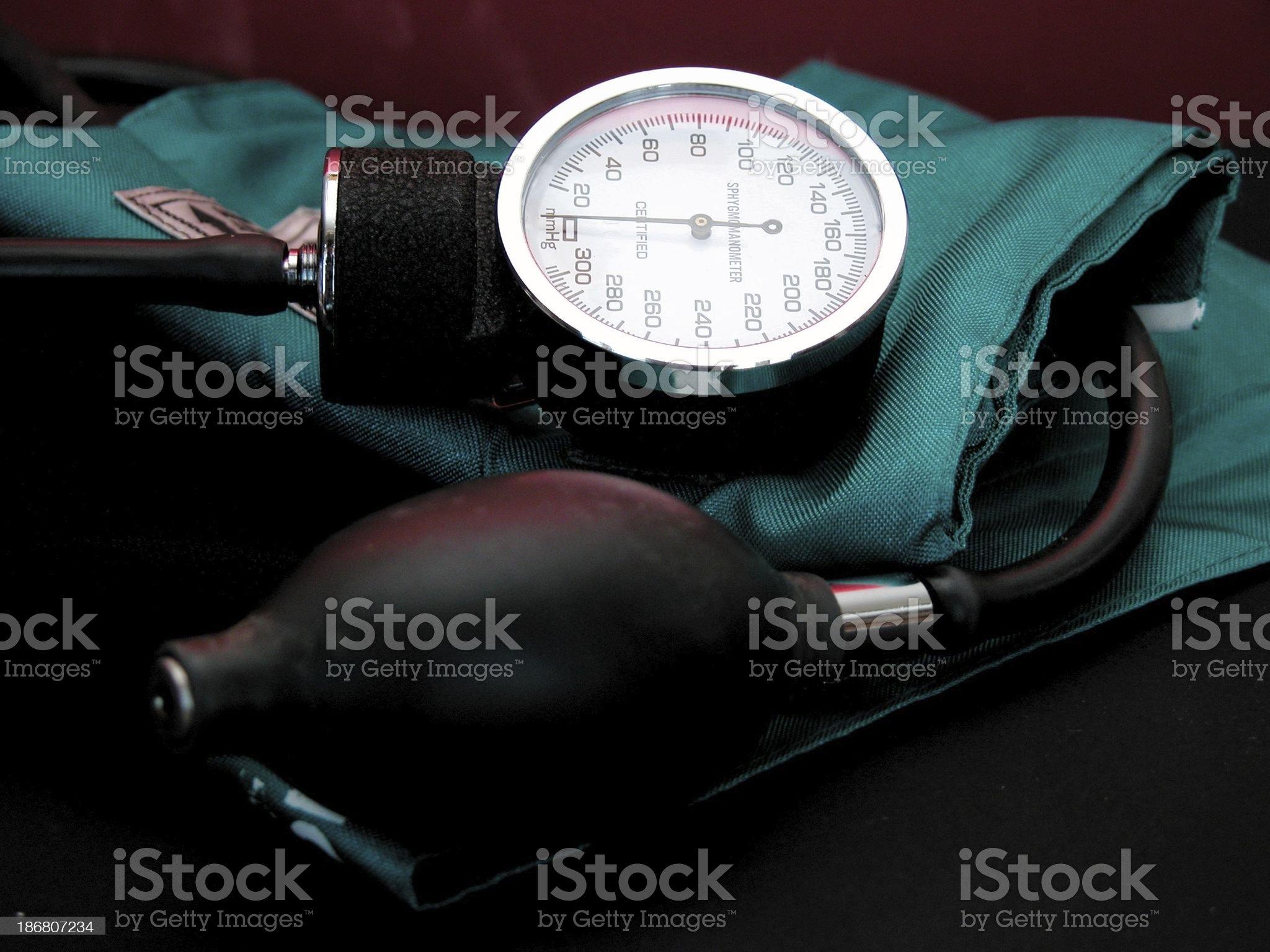 Blood Pressure cuff royalty-free stock photo
