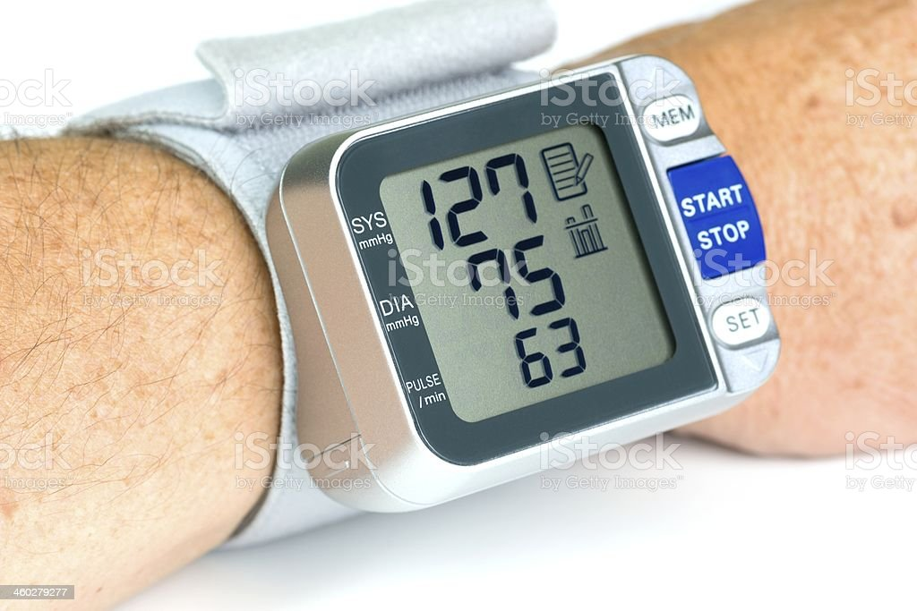 Bllod Pressure Cuff stock photo