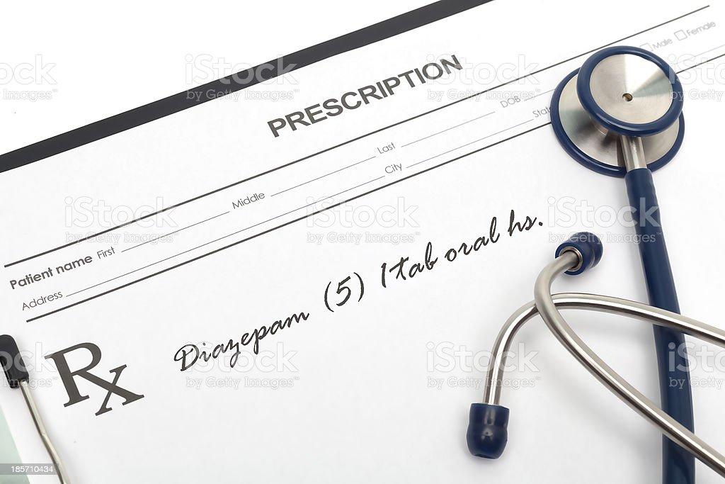 Blood pressure diagnosis royalty-free stock photo