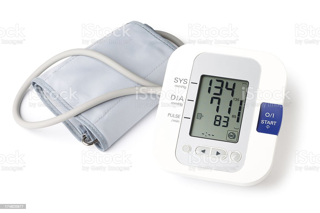 Blood Pressure Gauge royalty-free stock photo