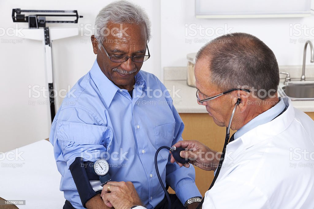Blood Pressure Measurement royalty-free stock photo