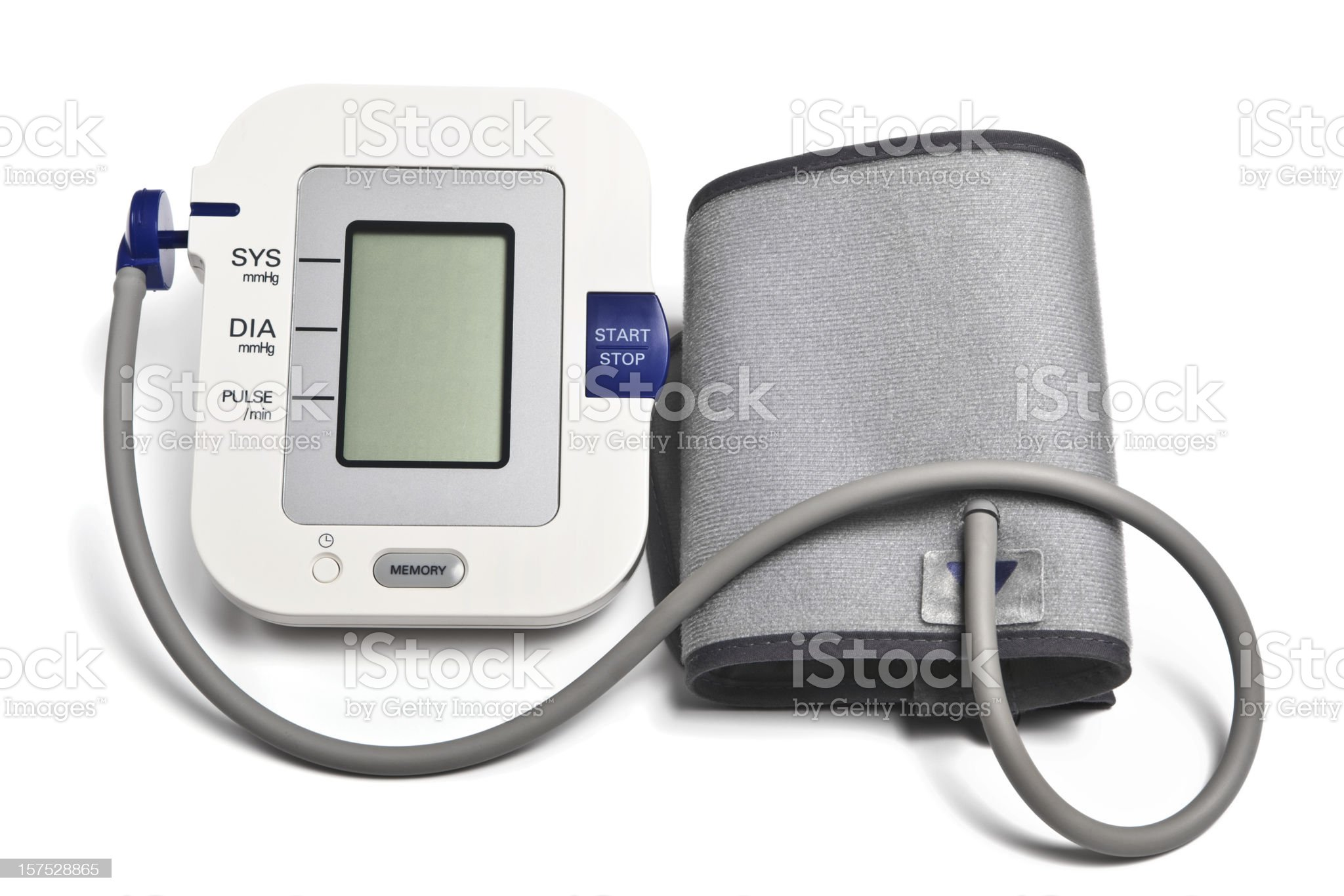 Blood Pressure Monitor for Home Use royalty-free stock photo