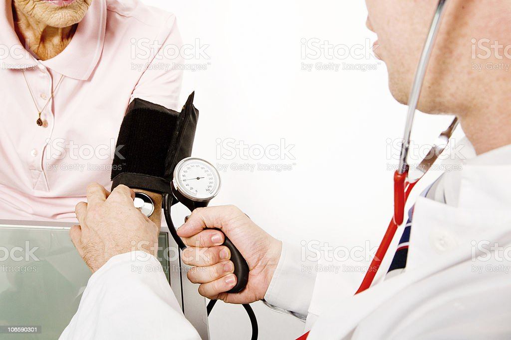 blood pressure royalty-free stock photo