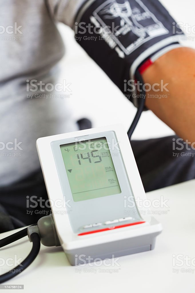 Blood Pressure Test royalty-free stock photo