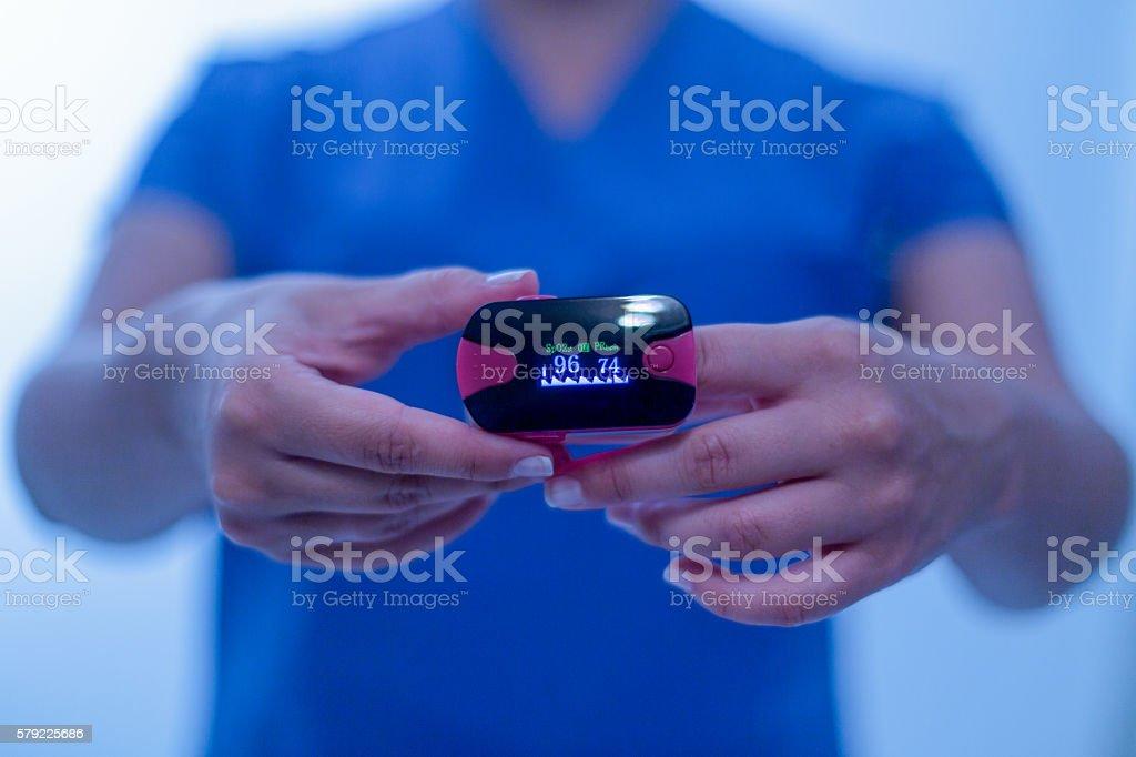 blood pressure test stock photo