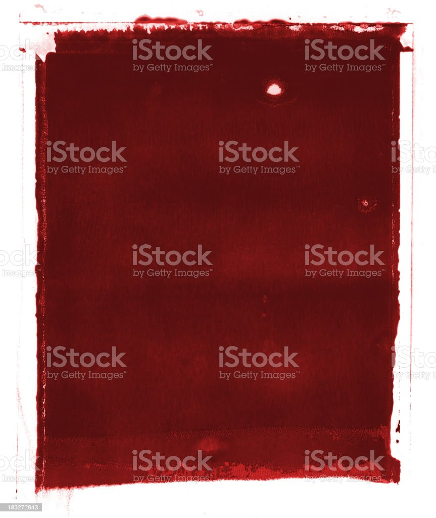 Blood Red Grunge Background stock photo