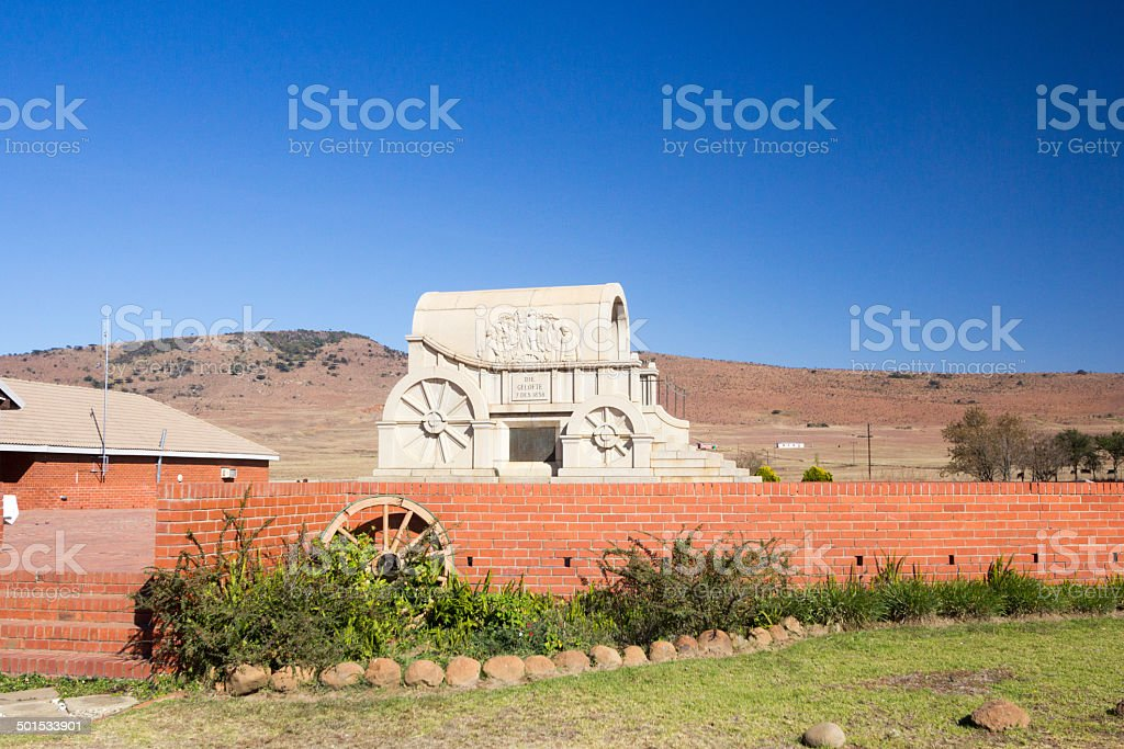 Blood River in KwaZulu-Natal, South Africa stock photo