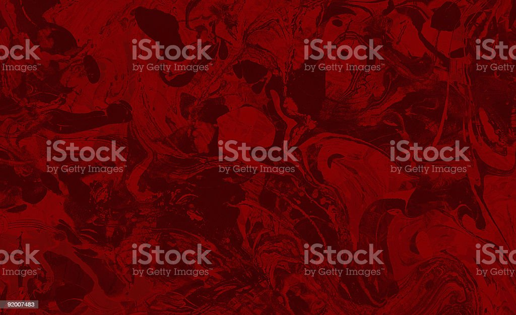 Blood Soup Marble royalty-free stock photo