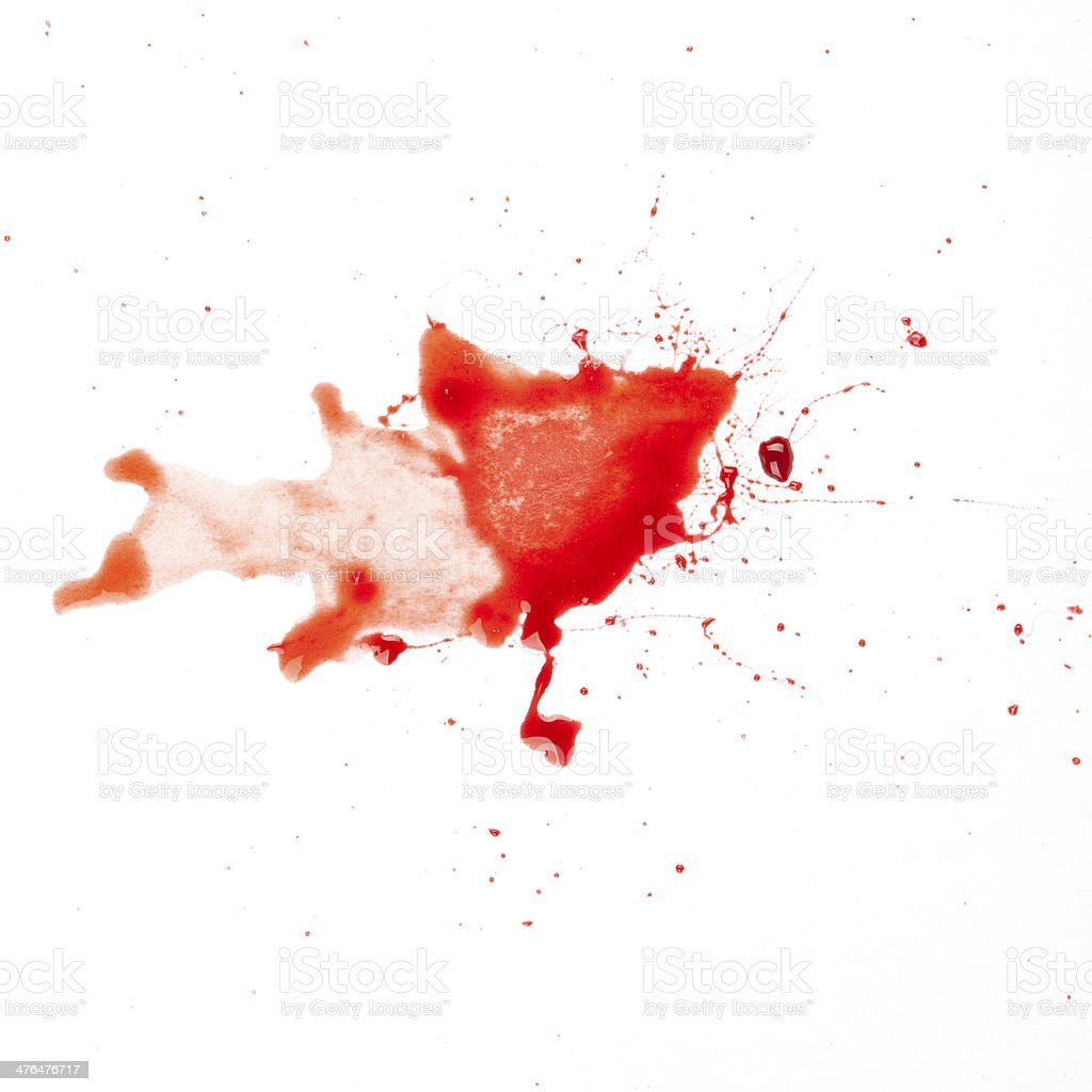 Blood Spatter royalty-free stock photo