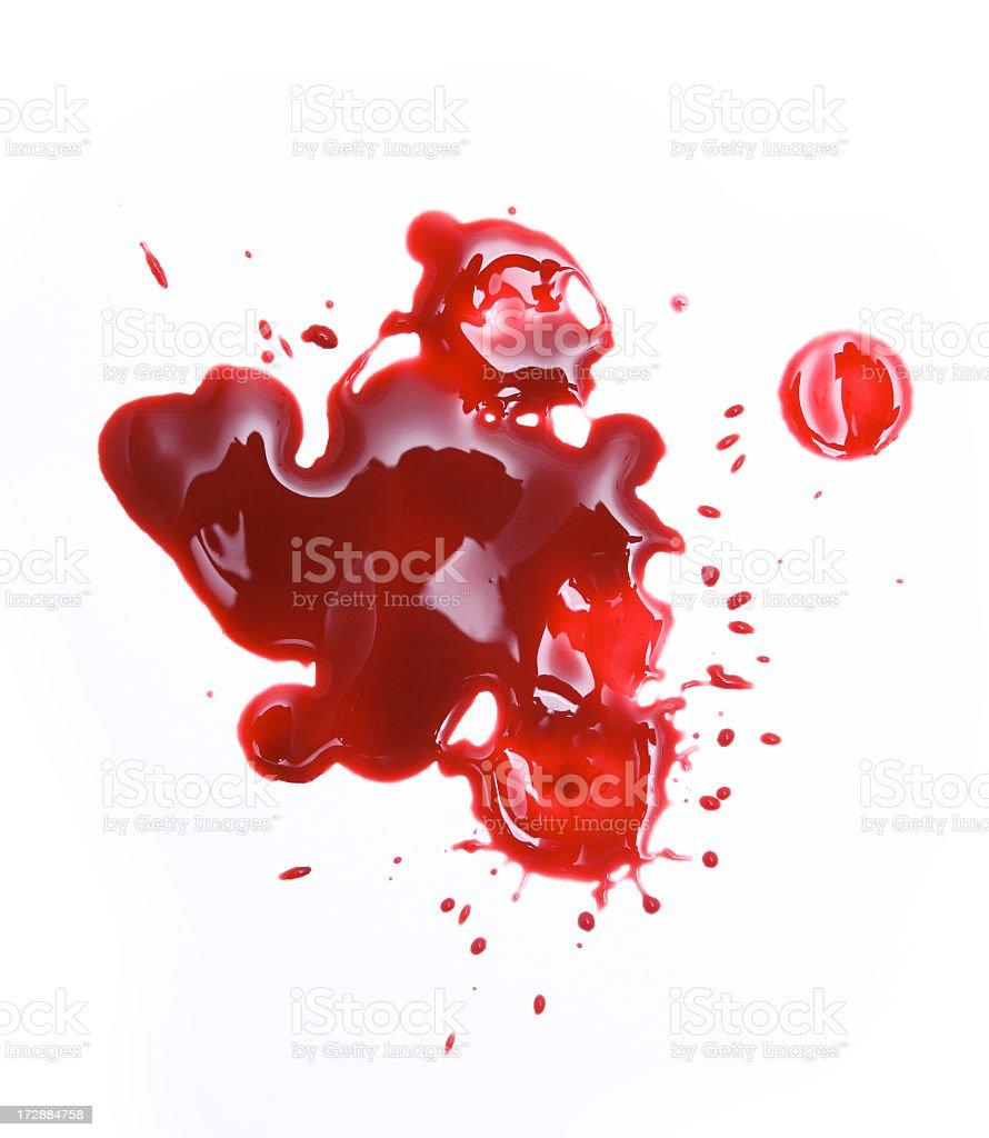 Blood Splatters royalty-free stock photo