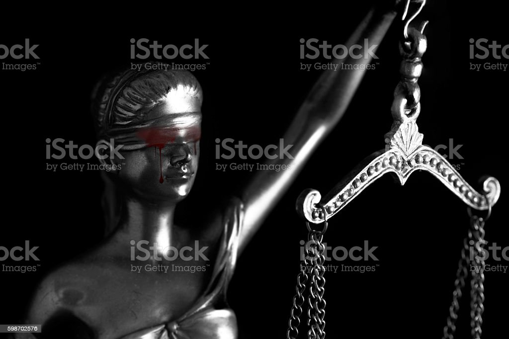 Blood tear of Themis stock photo