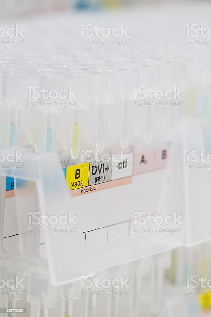 blood test equipments royalty-free stock photo