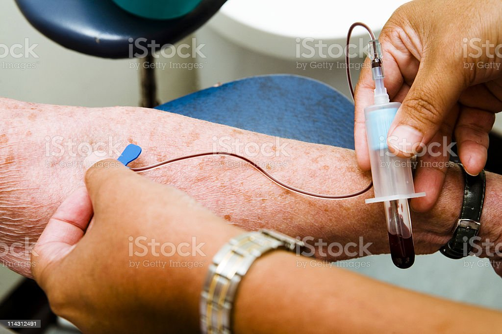 Blood test #2 royalty-free stock photo