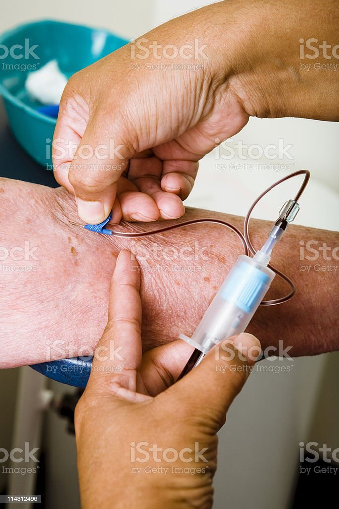 Blood test #3 royalty-free stock photo
