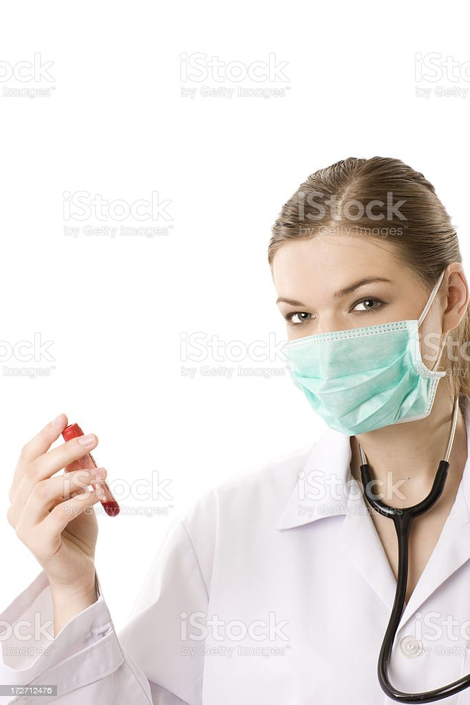 Blood test royalty-free stock photo