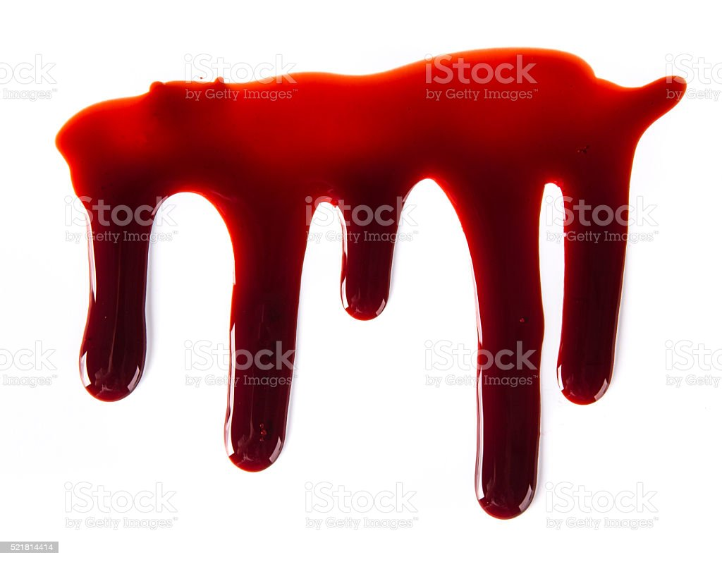 Blood texture stock photo