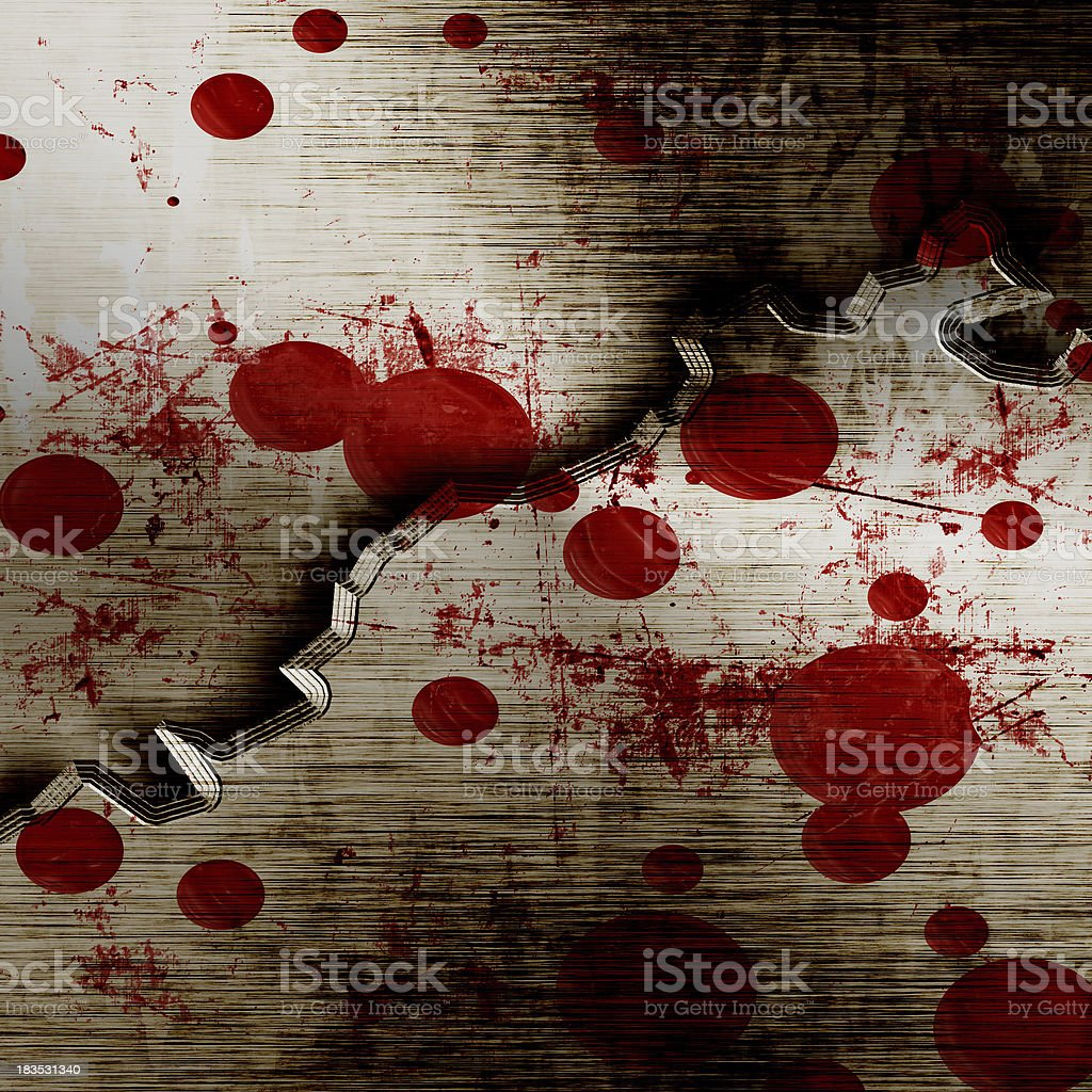 bloodied background royalty-free stock photo