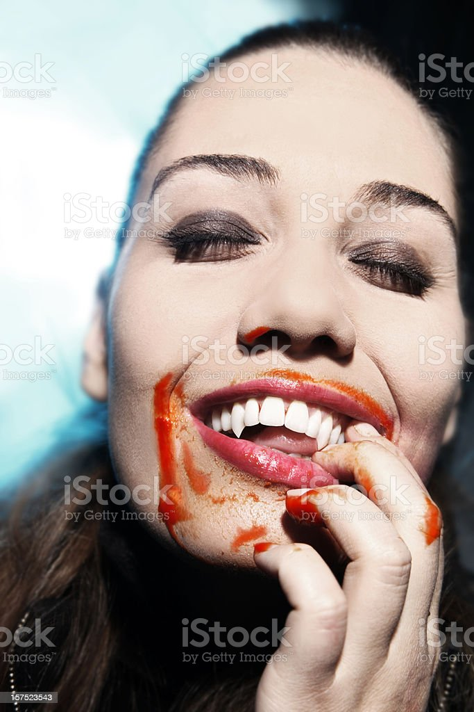 bloodthirsty royalty-free stock photo