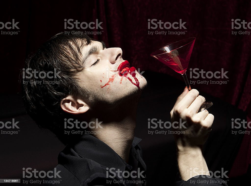 Bloody Cocktail stock photo